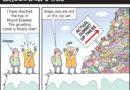 COMICS-L O L: 'NEWS ITEM:  Mount Everest is world's highest rubbish dump'