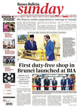 ASEAN NEWS FRONT PAGES HEADLINES: Brunei Headline – First