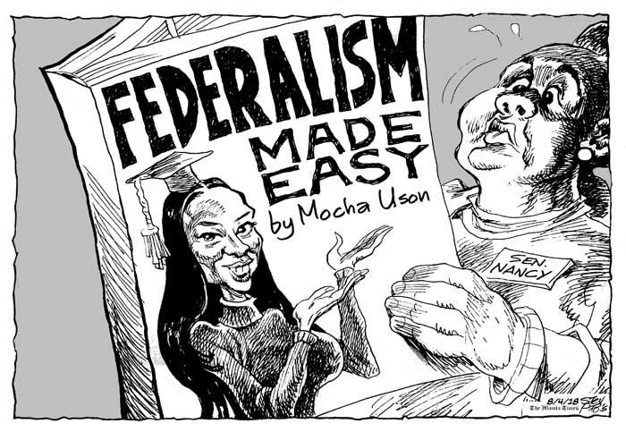 Op Ed Editorial Cartoons Manila Federalism Made Easy Aseanews