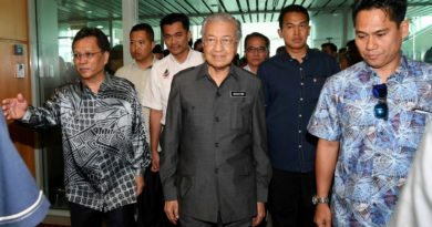LAW & GOVERNMENT: KOTA KINABALU- Dr M: Two thirds majority in parliament required to restore Sabah, Sarawak rights