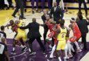 BRAWLSKETBALL- NBA:  LOS ANGELES- Hefty fine for NBA brawlers