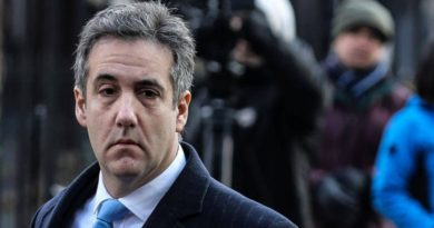 US POLITICS:  NEW YORK-   Donald Trump's ex-lawyer Michael Cohen given 3 years in prison, blames 'blind loyalty'