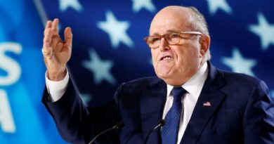US POLITICS:  WASHINGTON- Giuliani: 'Over my dead body' will Mueller interview Trump