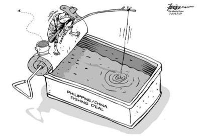 ED CARTOONS: PHILIPPINE/CHINA FISHING DEAL
