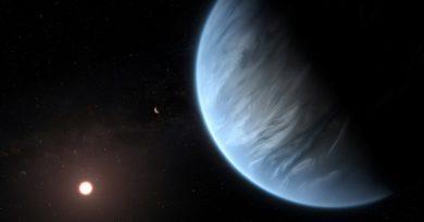 SPACE: Water found in atmosphere of habitable exoplanet