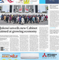 ASEANEWS HEADLINES:  Jokowi unveils new Cabinet aimed at growing economy