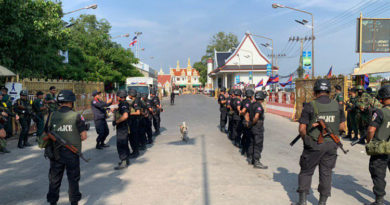 PHNOM PENH, Cambodia-  Border situation normal despite Rainsy's planned return