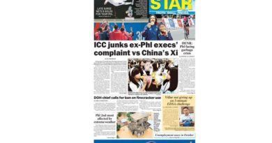 HEADLINES: ICC prosecutor junks complaint vs Xi Jinping on West Philippine Sea dispute