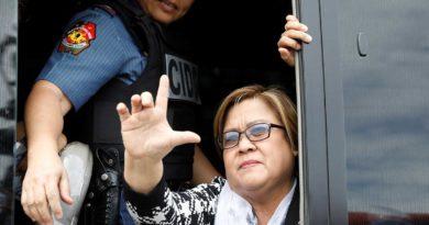 WASHINGTON, D.C., USA- US senators want De Lima freed