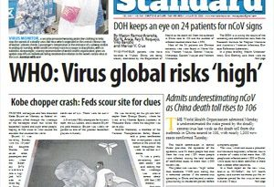 TRENDINGS: WUHAN VIRUS: WHO: Virus global risks 'high'