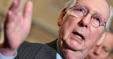 TRUMP IMPEACHMENT-DAY 3,  JAN. 18, 2020: WASHINGTON  US- 'Grim Reaper' of the US Senate- Rep. Senator Mitch McConnell