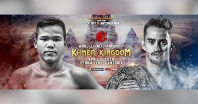 World Lethwei Championship: Myanmar's National Combat Sport Schedule Tournaments- Cambodia -April 3 and Thailand in June.