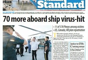 ASEANEWS-The COVID19:  70 more aboard ship virus-hit