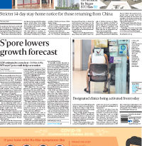 ASEANEWS-The COVID19: S'pore lowers growth forecast
