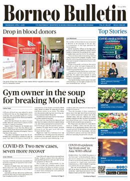 ASEANEWS FRONT PAGES: Gym owner in the soup for breaking MoH rules