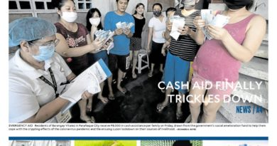 ASEANEWS FRONT PAGES: Rights groups wary as NBI summons 17 for 'fake news'