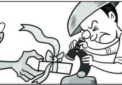 EDITORIAL-CARTOONS: Phil. Daily Inquirer- Test those China-made kits