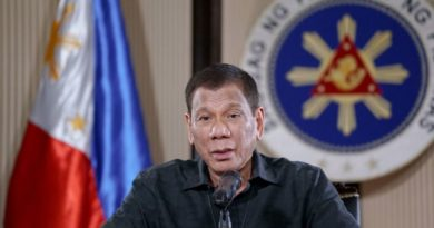 "COVID-19 ""PLAGUE"":  'Shoot them dead': Philippine President Duterte says he won't tolerate violators of lockdown against coronavirus"
