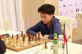 CHESS: Asian Juniors Online Chess Championships:   Filipino Daniel Quizon downed fellow IM Dambasuren Batsuren of Mongolia …