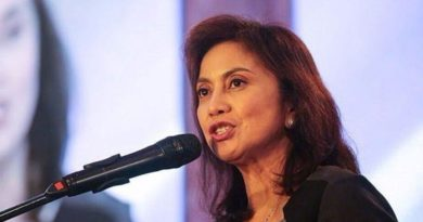 MEDIA-ABS-CBN FRANCHISE:  Robredo calls on Filipinos: Mark those who shut down ABS-CBN