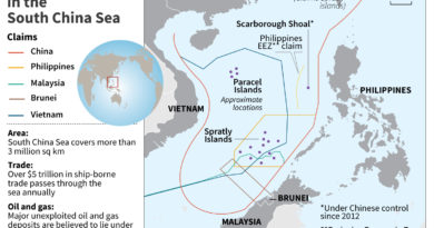 THE DAILY PLANET:   Pompeo says Beijing claims in South China Sea 'unlawful'
