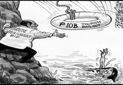 EDITORIAL CARTOONS:  Where's the bailout?