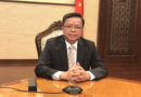 HEADLINE:  China denies SCS ruling anew