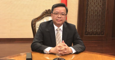 HEADLINE:  China denies SCS ruling anew