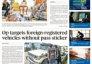 ASEAN HEADLINE: BRUNEI- Op targets foreign-registered vehicles without pass sticker