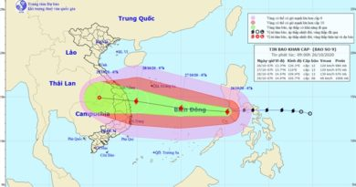 ASEAN WEATHER: TRAVEL UPDATES- TROPICAL STORM MOLAVE / TYPHOON QUINTA –