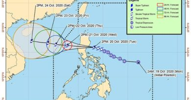 ASEAN WEATHER: October 21, 2020:
