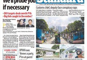 ASEAN HEADLINES:  MANILA – Villar to Villar: We'll probe you if necessary