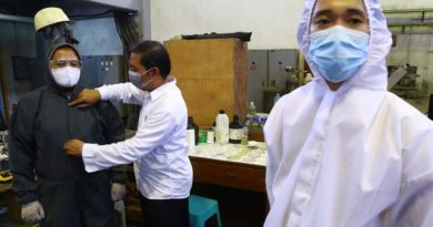 COVID-19 PANDEMIC:  JAKARTA- Weekly Number in Indonesia Coronavirus Cases Sets New Record