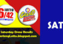 LOTTO PCSO: Lotto 6/42 & Grand 6/55: Sat. 11/21/2020 | Php.20 & Php.29 Millions