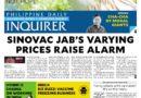 ASEAN HEADLINES:  MANILA HEADLINE- Varying prices of Sinovac COVID-19 vaccine raise alarm