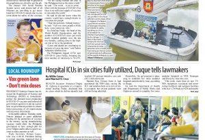 ASEANews HEADLINES: MANILA- Rody dooms vax doubters