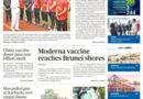 ASEANews HEADLINES: COVID-19 & VACCINES: BRUNEI DARUSSALAM- Moderna vaccine reaches Brunei shores
