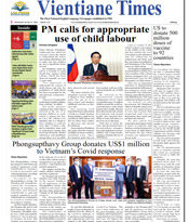 ASEANews HEADLINES: VIENTIANE, Laos- PM calls for appropriate use of child labour