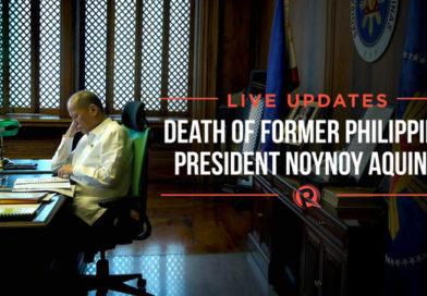 BREAKING NEWS- TRIBUTES: MANILA Philippines- BENIGNO AQUINO III- UPDATES: Death of former Philippine president Noynoy Aquino