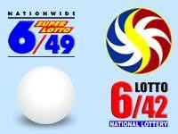 PHILIPPINE LOTTO: Results Lotto 6/42 – Super 6/49 : Thur. 07/29/2021