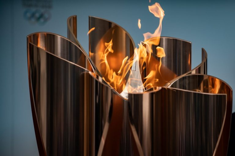 2021 OLYMPICS: TOKYO Japan- Olympic flame arrives in Tokyo ...