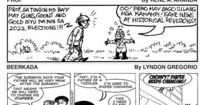COMICS: THE PROF & BEERKADA