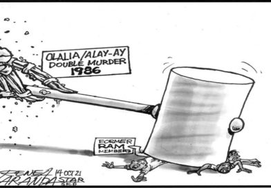 EDITORIAL CARTOONS:  Partial justice, after 35 years